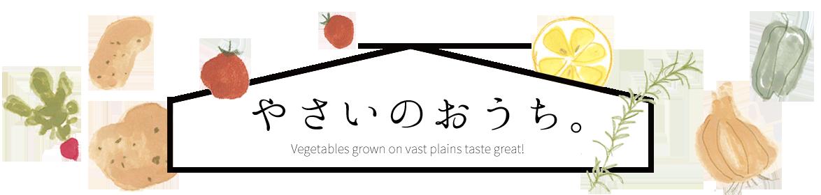 野菜のおうち。常温と冷凍保存方法解説